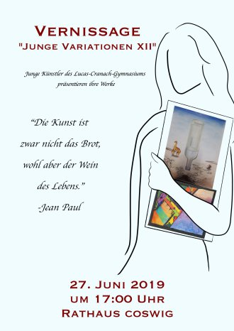 Vernissage-Junge Variationen XII